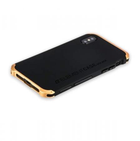 bdf3e646 Чехол-накладка для iPhone XS Max Element Case Solace Black/Gold ...