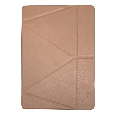 """Чехол Origami Logfer Case с держателем для стилуса для iPad Pro 12.9"""" (2020) - Розовое золото"""