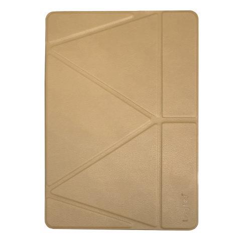 Чехол Logfer с держателем для стилуса для iPad Air - золотой
