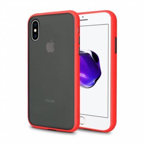 Противоударный чехол AVENGER для iPhone XR - Red/Black