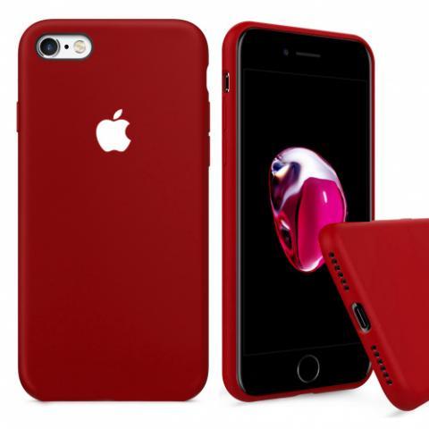 Чехол Full Silicone Case iPhone 6/6S - camelia white