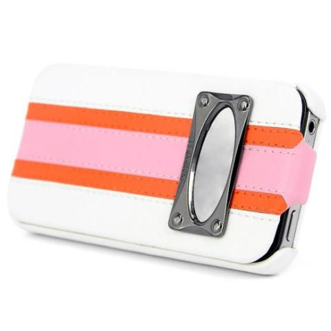 Чехол HOCO Marques Fashion Leather Case для iPhone 4/4S - белый