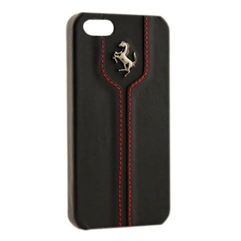 Чехол-накладка Ferrari Montecarlo Collection Hard Case для iPhone 5с - black