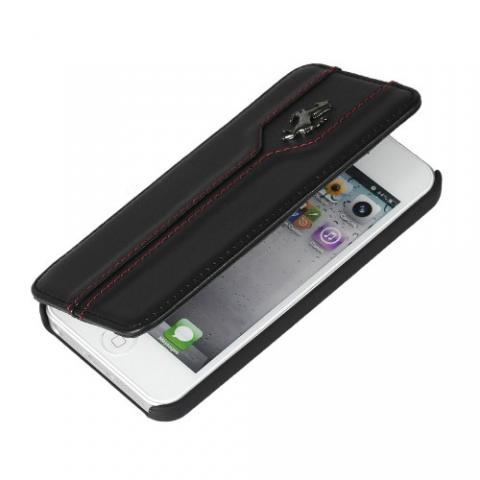 Чехол-книжка Ferrari Montecarlo Booktype для iPhone 5c - black