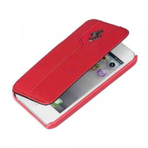 Чехол-книжка Ferrari Montecarlo Booktype для iPhone 5c - red