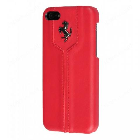 Чехол-накладка Ferrari Montecarlo Collection Hard Case для iPhone 5с - red