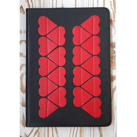 "Чехол Love для iPad 9.7"" (2017/2018) Black&Red"