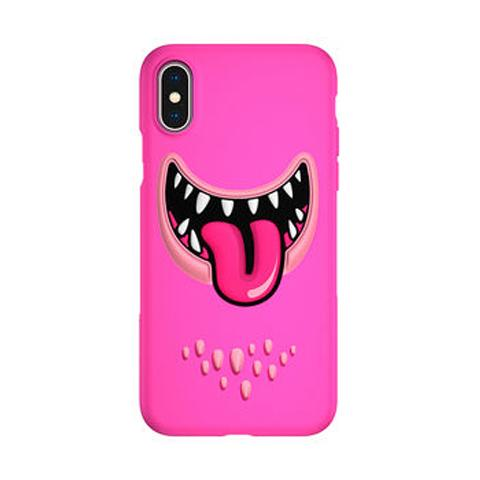 Чехол Monster для iPhone X/XS Pink