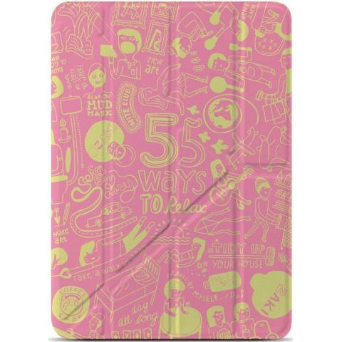 "OZAKI O!coat Relax 360° for iPad 9.7"" (2017/2018) - Pink"