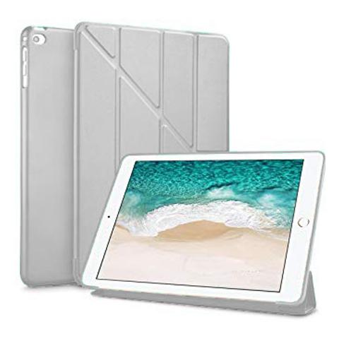 "Чехол Y-type Case (PU Leather + Silicone) для iPad 9.7"" (2017/2018) Gray"