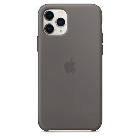 Apple Silicone Case для iPhone 11 Pro Max - Charcoal Grey (Hi-Copy)