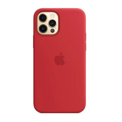 Силиконовый чехол для iPnone 13 Pro - Red