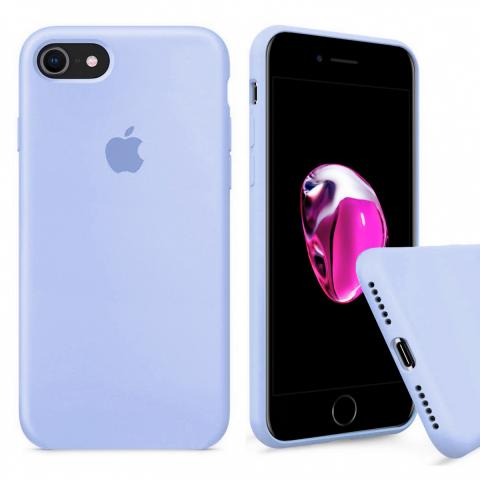 Full Silicone Case for iPhone 8/7 - Lilac