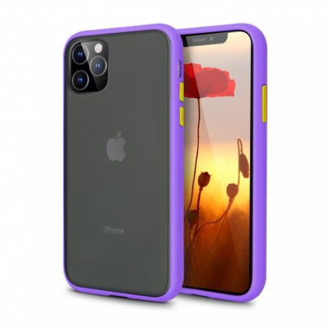 Противоударный чехол AVENGER для iPhone 11 Pro Max - Purple/Orange