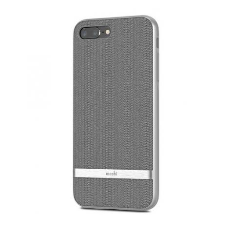 Чехол Moshi Vesta Textured Hardshell Case Herringbone Gray for iPhone 8 Plus/7 Plus (99MO090011)