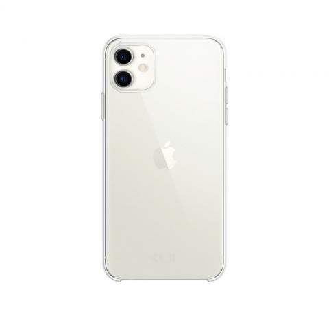 Чехол Silicone Clear Case для iPhone 11