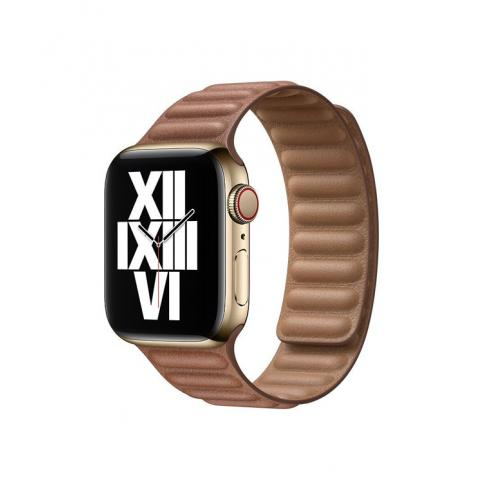 Кожаный ремешок Leather Link для Apple Watch 42/44 mm - Brown