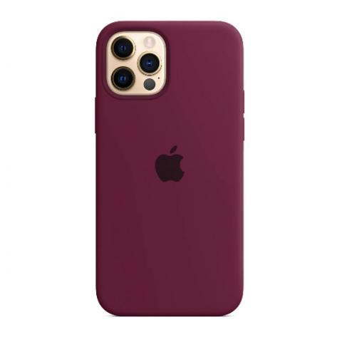 Силиконовый чехол для iPnone 13 Pro Max - Purple