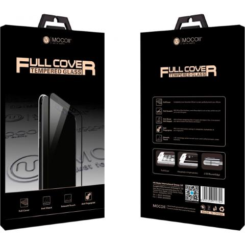 Защитное стекло Mocoll Full Cover Tempered Glass 3D Storm для iPhone 7/8 Black
