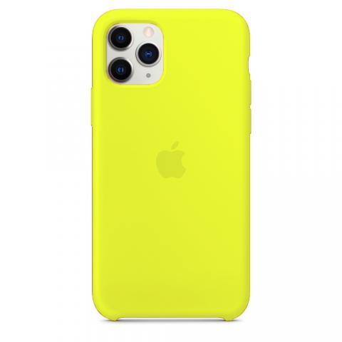 Apple Silicone Case для iPhone 11 Pro - Flash (Hi-Copy)