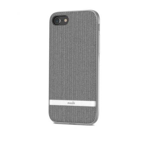 Чехол Moshi Vesta Textured Hardshell Case Herringbone Gray for iPhone 8/7 (99MO088011)