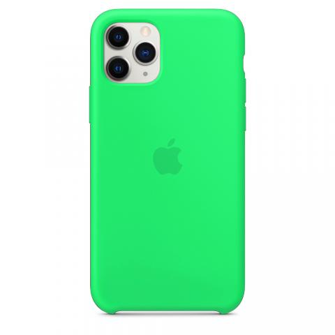 Apple Silicone Case для iPhone 11 Pro Max - Spearmint (Hi-Copy)