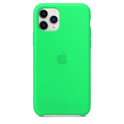Apple Silicone Case для iPhone 11 Pro - Spearmint (Hi-Copy)