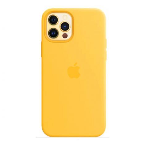 Силиконовый чехол для iPnone 13 Pro Max - Yellow