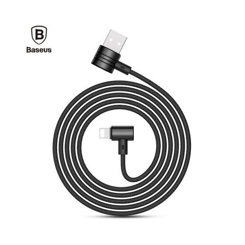 Baseus T-type 8 Pin Magnet Wire ( Side Insert ) for iPhone - Black