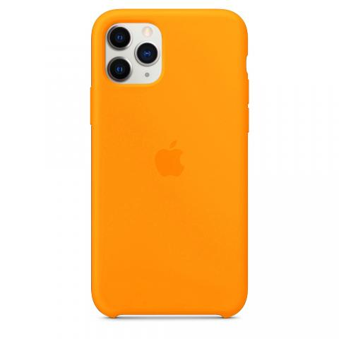 Apple Silicone Case для iPhone 11 Pro Max - Papaya (Hi-Copy)