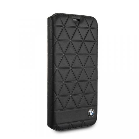 Чехол CG Mobile Embossed Hexagons Signature Collection iPhone X BMW Genuine Leather Book Case