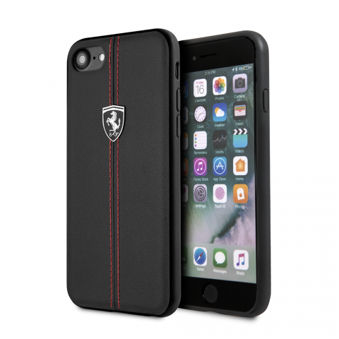 Чехол CG Mobile Heritage Collection iPhone 8/7 Ferrari Genuine Leather Heritage