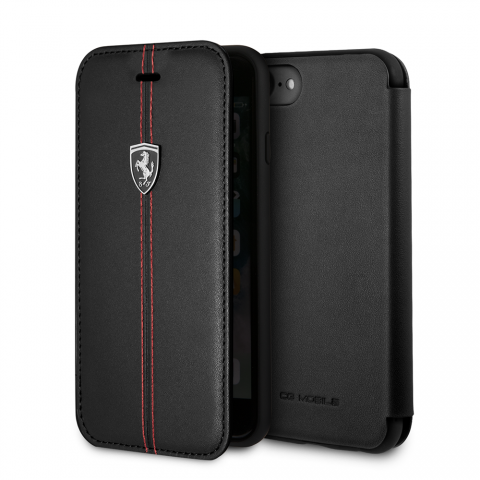 Чехол-книжка CG Mobile Heritage Collection iPhone 8/7 Ferrari Genuine Leather Heritage