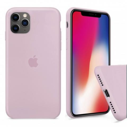 Чехол Full Silicone case для iPhone 11 Pro - Pink Sand