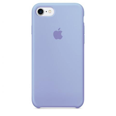 Apple Silicone Case for iPhone 7 - Light Violet (Hi-Copy)