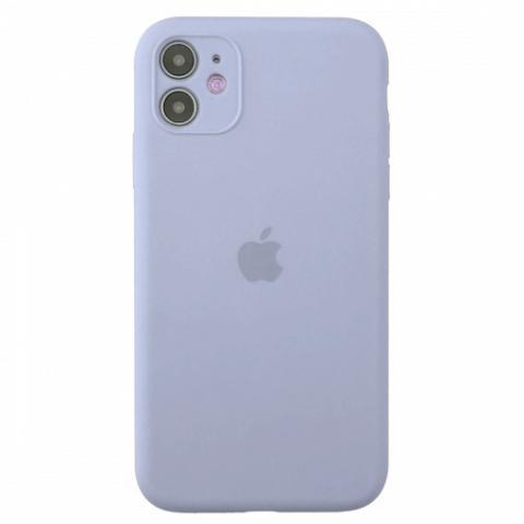Чехол Silicone Case Full Camera для iPnone 11 - Lilac