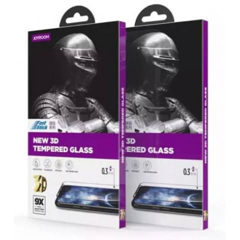 Защитное стекло JoyRoom Knight Crystal 0.3 mm для iPhone 7 Plus/8 Plus 3D Black