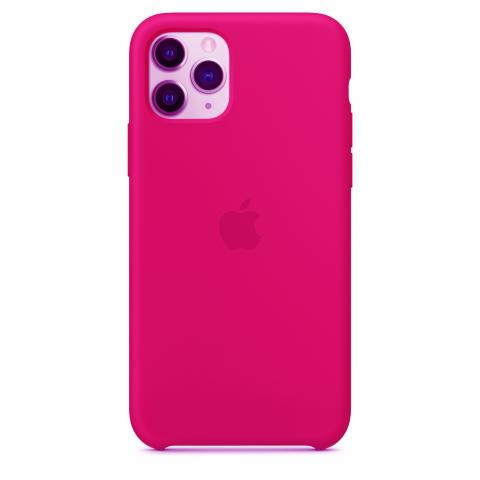 Apple Silicone Case для iPhone 11 Pro Max - Dragon Fruit (Hi-Copy)