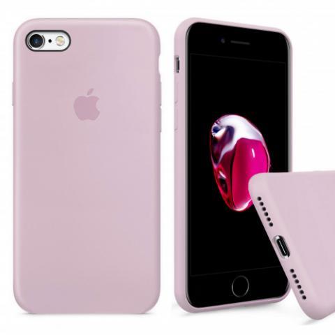 Чехол Full Silicone Case iPhone 6/6S - lavander