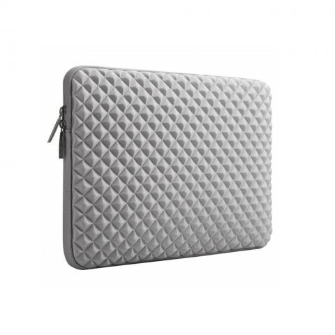 """Неопреновый чехол 3D ROMB для MacBook 15"""" Silver"""