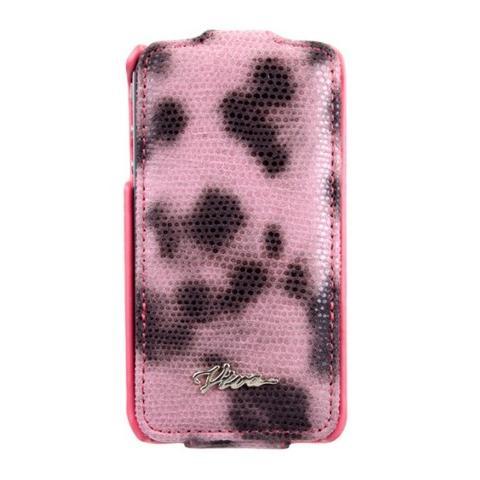 Viva LUJO Leopardo LEO dot iPhone 4/4S pink