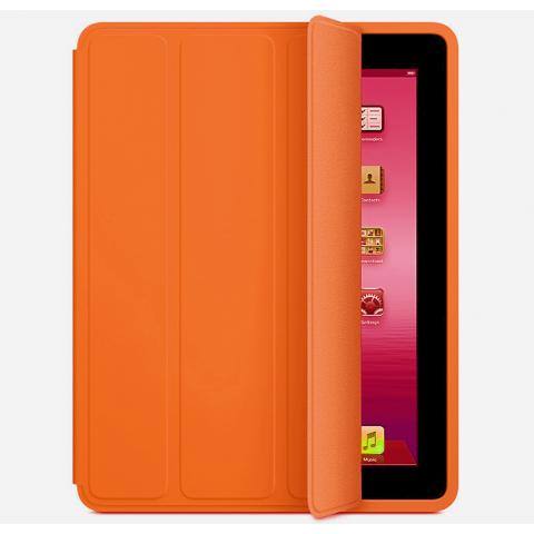 Apple Smart Case для iPad 2/3/4 Orange (Hi-copy)