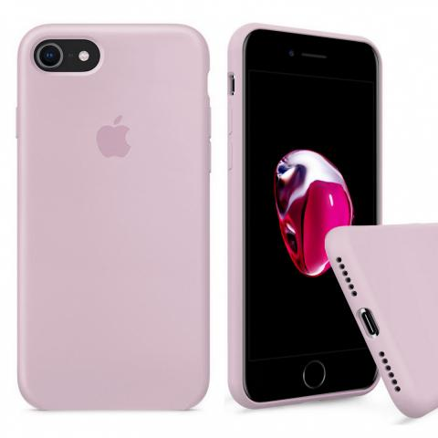 Full Silicone Case for iPhone 8/7 - Pink Sand