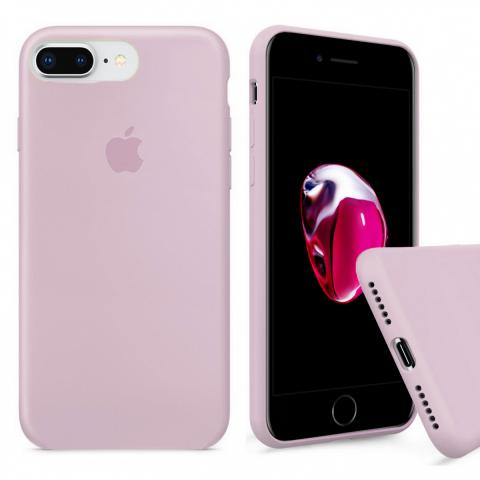 Full Silicone Case for iPhone 8 Plus/7 Plus - Pink Sand