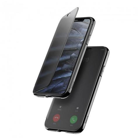 Чехол-книжка Baseus Touchable Case для iPhone X/XS Black
