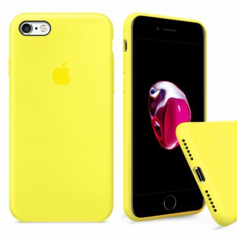 Чехол Full Silicone Case iPhone 6/6S - flash