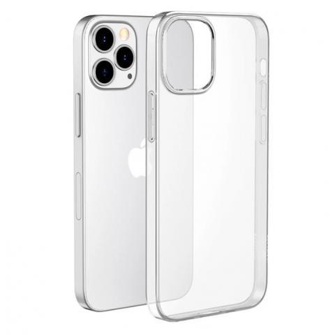 Прозрачный силиконовый чехол для iPhone 13 Pro Max