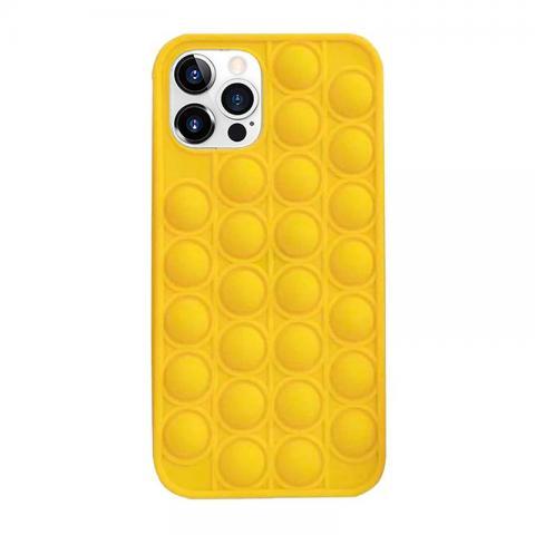 POP IT Case для iPhone 11 Pro Max Yellow