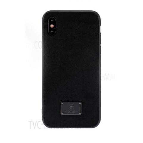Чехол WK Velvet Case for iPhone X Black (WPC-081)