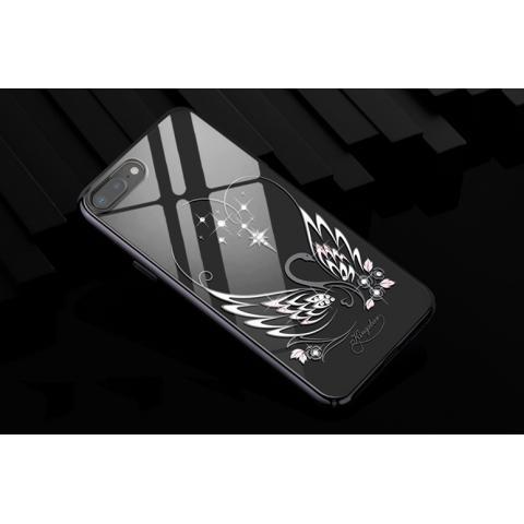 Чехол-накладка Kingxbar Swarovski Swan Series для iPhone 8 Plus/7 Plus Black